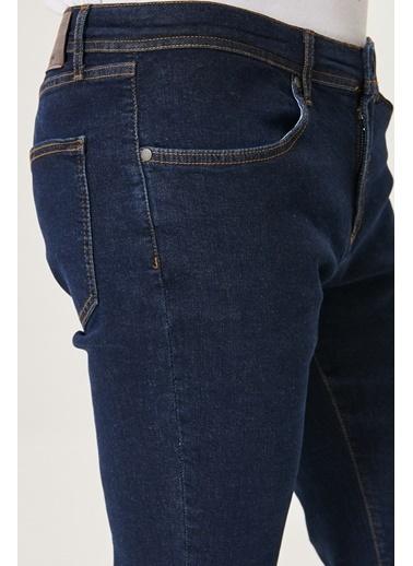 Altınyıldız Classics Ekstra Slim Fit Dar Kesim Denim Esnek Jean Kot Pantolon 4A0121200114 Lacivert